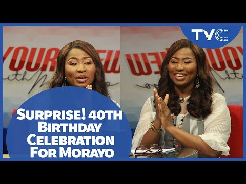 Surprise! 40th Birthday Celebration For Morayo Afolabi Brown (Full Video)