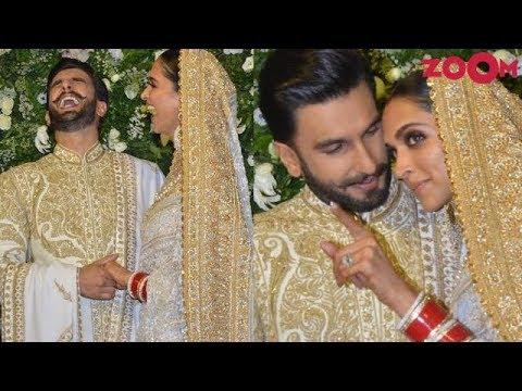 Video Deepika Padukone is called 'Bhabhi Ji' by media at wedding reception with Ranveer Singh download in MP3, 3GP, MP4, WEBM, AVI, FLV January 2017