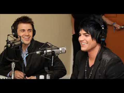AT40 Bloopers: Adam Lambert and Kris Allen