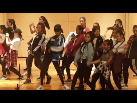 Edgefield sec sch hip hop dance (видео)