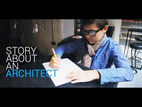 Dream big. Be unique. A story about an architect.