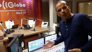 Vídeo para os sonoplastas, operadores de áudio, ouvintes e apaixonados pela Rádio Globo. Imagens: Jéssica Lima. COMPARTILHE!!!