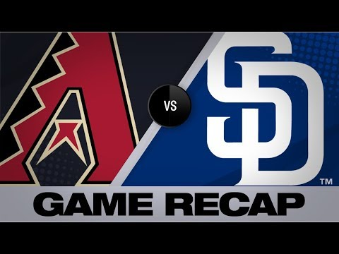 Video: Kelly's gem, Rojas' 3 RBIs help lead D-backs | D-backs-Padres Game Highlights 9/20/19