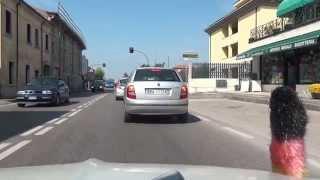 Caldiero Italy  City pictures : Soave Colognola ai Colli Stra Caldiero SR11 Italien Italy 10.4.2015