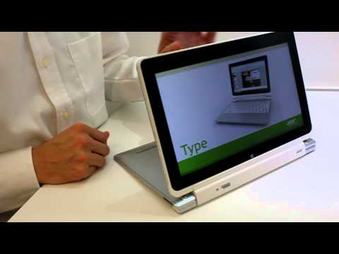 intel ULV cpu - http://www.notebookcheck.net presents the Acer Iconia W510 running Windows 8 from the Computex 2012. The teblet / convertible uses a Ivy Bridge ULV processor...