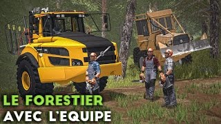 Video Farming Simulator 17 - Le Forestier avec l'équipe ! MP3, 3GP, MP4, WEBM, AVI, FLV Oktober 2017