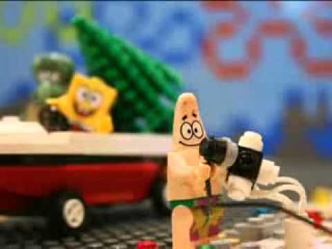 YouTube   Lego Spongebob   Don39t Be A Jerk It39s Christmas Director39s Cut