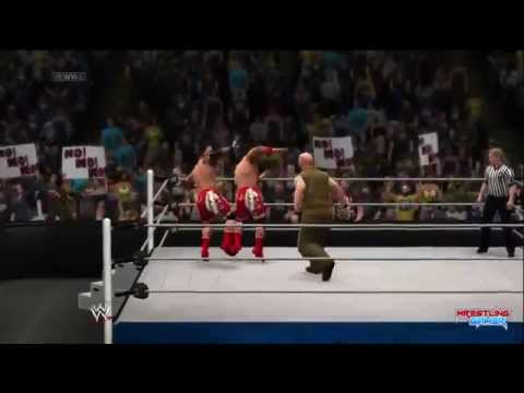 Family - The Usos win and retain with a double splash on Luke Harper Follow me on Twitter http://twitter.com/deserteagle814 Join the Facebook Fan Page http://facebook.com/deserteagle814 ...