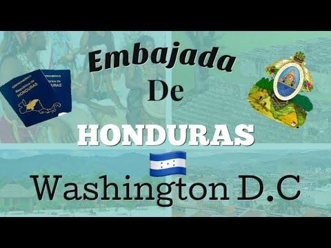 Consulado De Honduras en Washington D.C 2018/ Que NECESITO para sacar mi PASAPORTE/ DIRECCION