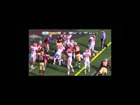 Clemson D vs Boston College O 2010 video.
