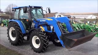 8. New Holland T5060 Tractor with Loader For Sale by Mast Tractor!