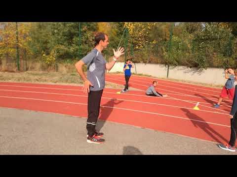 Apprentissage du sprint avec Matthieu (2)