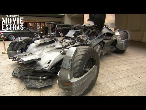 "Justice League ""Mercedes VGT and Batmobile"" B-Roll (2017)"