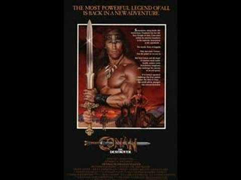 Conan The Destroyer(Main Theme) - Basil Poledouris