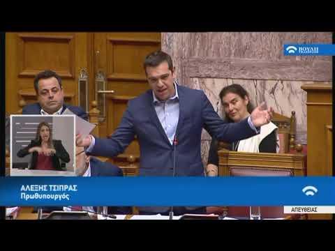 Α.Τσίπρας(Πρωθυπουργός)(Συζήτηση για διενέργεια προκαταρκτικής εξέτασης)(08/03/2018)