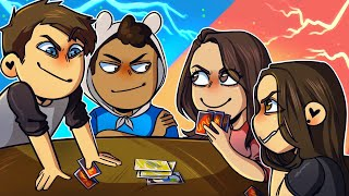 The BATTLE of the SEXES!! - Uno Funny Moments
