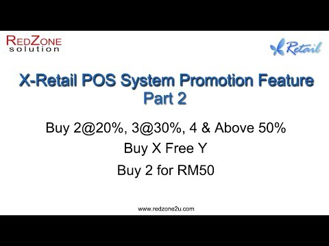 Xretail POS System Promotion Feature Part2