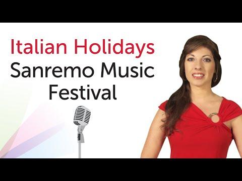 Italian Holidays - Sanremo Song Festival - Festival di Sanremo