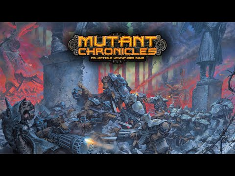 Mutant Chronicles Collectible Miniatures Game / Game Trailer
