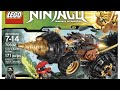 Video New  video for the Ninjago Cole Earth Driller 70502