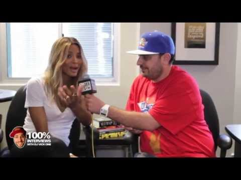 vickuno - Ciara interview at Power 106 with DJ Vick One.