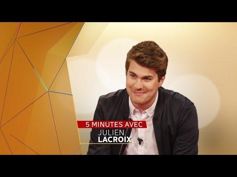Cinq minutes avec l'humoriste Julien Lacroix