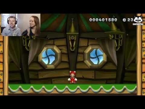 New Super Mario Bros. Wii U [ИгроПроходимец+Лизавета] Part 01