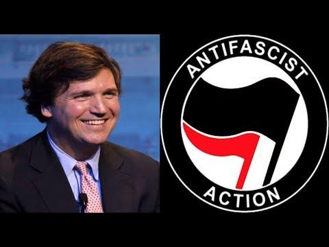 Antifa Threatens Tucker Carlson's Family at His Home (THE SAAD TRUTH_776)