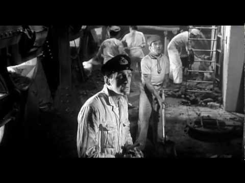 A Night to Remember (1958) - Titanic hits the iceberg