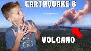 Hawaii Volcano Erupts! Earthquakes, Fires & Evacuations! Family Update