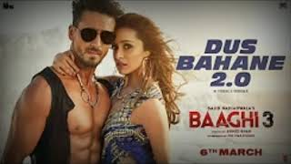 Video Dus Bahane 2.0 - Baaghi 3 - Full Audio Song download in MP3, 3GP, MP4, WEBM, AVI, FLV January 2017