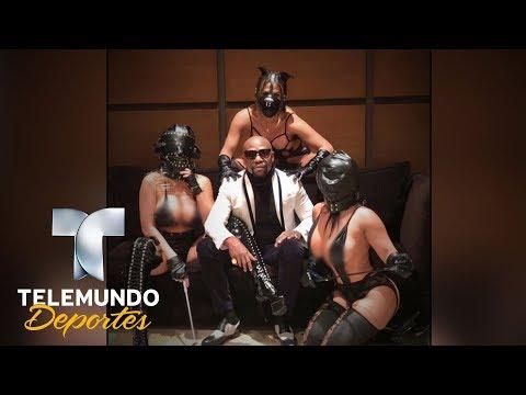 ¿Fifty Shades of Floyd? Mayweather presume de sado-maso   Videos Virales   Telemundo Deportes
