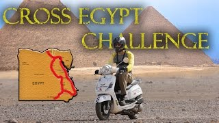 Motorcycle Adventure Rally Across Egypt in 3000 KM and 9 Days