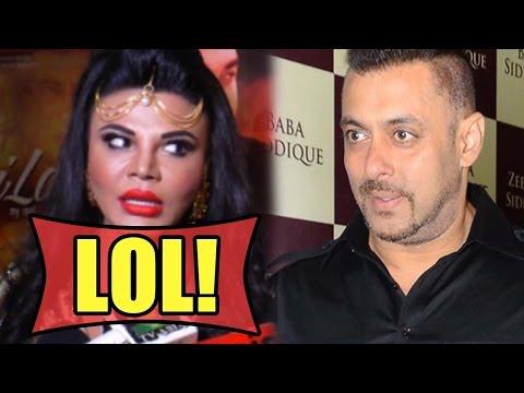 LOL! Rakhi Sawant's Funny Reaction On Salman Khan'