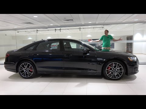 The 2020 Audi S8 Is Audi's Ultra-Fast Flagship Sedan