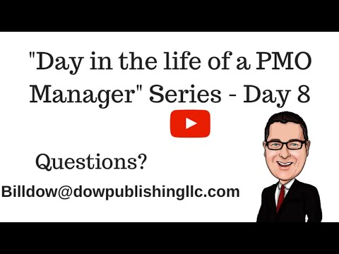 Day in the life of PMO Manager Series