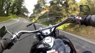 8. 2002 1100 Honda Shadow Aero motorcycle ride