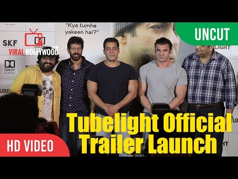 UNCUT - Tubelight Official Trailer Launch | Salman Khan, Sohail Khan, Kabir Khan