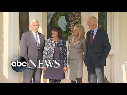 Joe Biden, Mike Pence Meet at Biden Residence