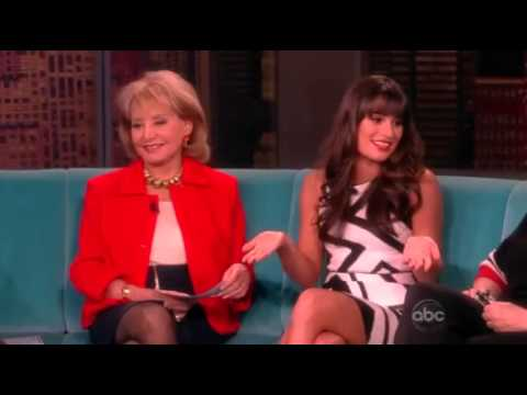 Lea Michele - I DO NOT OWN THIS VIDEO, ALL RIGHTS RESERVED TO ABC AND THE VIEW. XO.