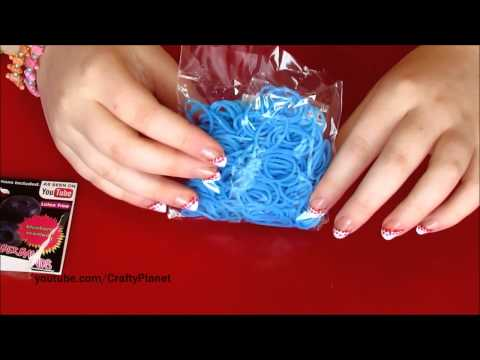 BLUEBERRY Scented Rainbow Loom Rubber Band Haul – Rubber Band Bracelets, Rings, Charms Twistz Bandz