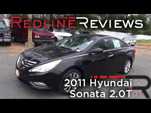 2011 Hyundai Sonata 2.0T Review, Walkaround, Exhaust, Test Drive