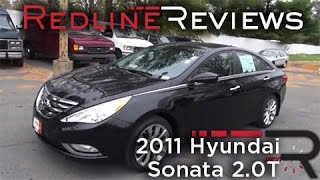 2011 Hyundai Sonata 2.0T Review, Walkaround, Exhaust, Test Drive