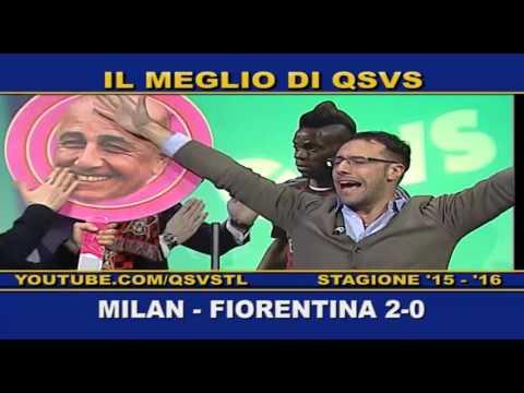 qsvs - i gol di milan-fiorentina 2-0