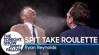 Video Spit Take Roulette with Ryan Reynolds MP3, 3GP, MP4, WEBM, AVI, FLV Juli 2019
