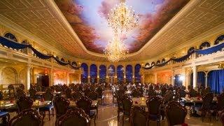 Video Disney's Be Our Guest Beasts Enchanted Castle Restaurant Tour New Fantasyland DisneyWorld MP3, 3GP, MP4, WEBM, AVI, FLV April 2019