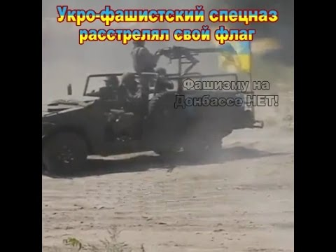 Начало эпопеи с рваным флагом Украины