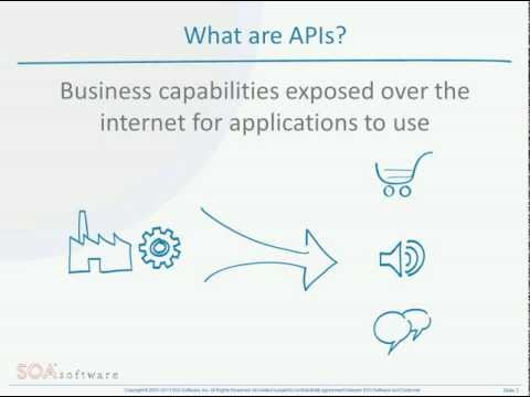 api - SOA Software's CTO describes what APIs are and how they can change your business.