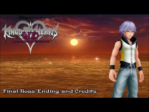 Kingdom Hearts Dream Drop Distance - Final Boss, Ending and Credits