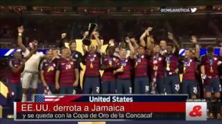EE.UU. derrota a Jamaica y se queda con la Copa de Oro de la Concacaf